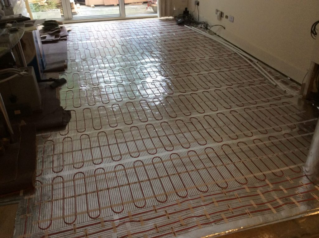 Avs electrical under floor heating2