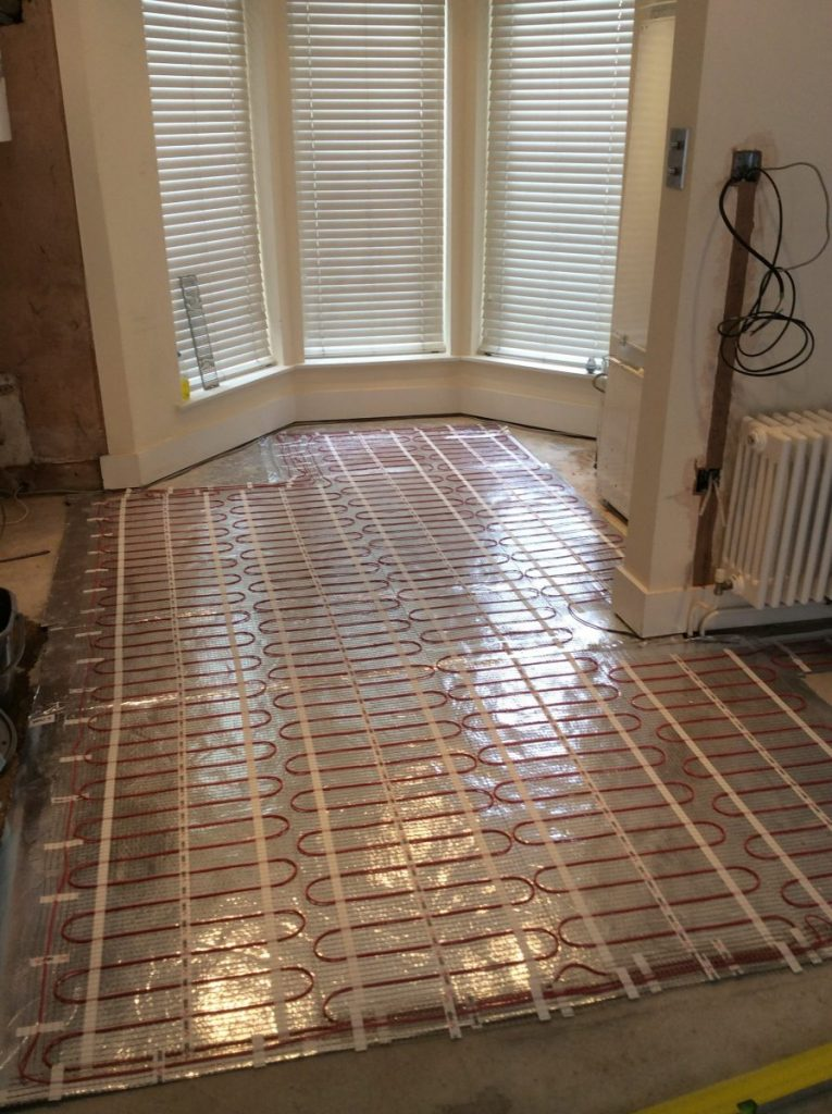 Avs electrical under floor heating7